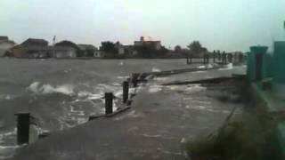 Hurricane Irene Storm Surge in Atlantic Beach.