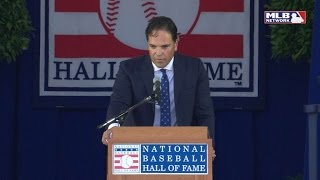 Mike Piazza gives Hall of Fame induction speech