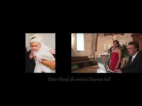 Da bist du (Lied zur Taufe/Tauflied) Sängerin Kiel