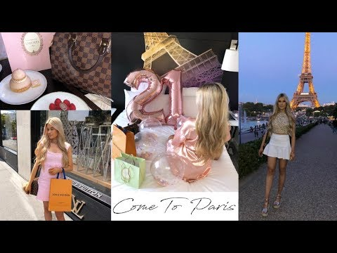 come to Paris with me! luxury shopping in Louis Vuitton & Ch