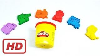 Играть Doh & цветов для детей учиться играть Doh формы медведя Лев играть Doh елочные игрушки