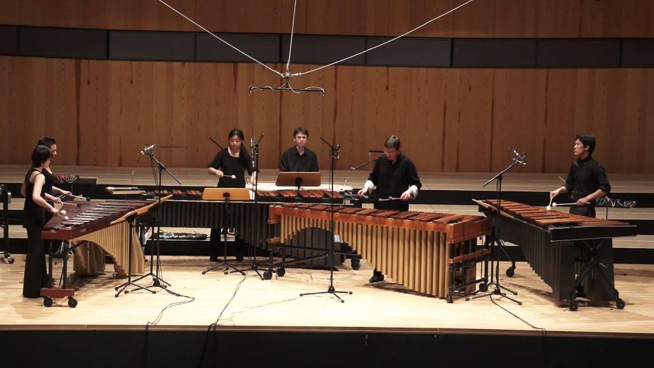 Marimba Mozart - Piano Concerto in C-major Kv  415 - Andrey Doynikov &  Detmold Percussion
