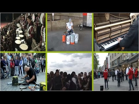 street-best-of compilation music drummer piano