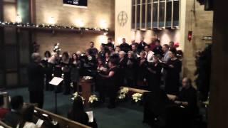 Shine The Light Of Your Love - Augustana Lutheran Church Choir - Christmas Eve 2013