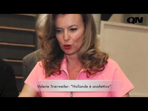"""Valerie Trierweiler: """"Hollande è anafettivo"""""""