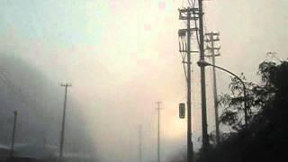 大きくなって近づく火球 火球 検索動画 14