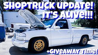 Phantom's ShopTruck Update: IT'S ALIVE!!! Plus Another Give Away!