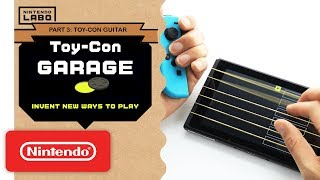 Download Nintendo Labo - Invent New Ways To Play With Toy-Con Garage - Part 3 Mp3 and Videos