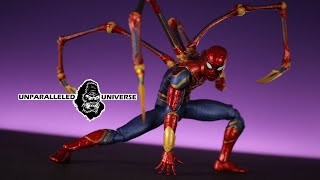 Marvel Select Infinity War Spider-Man (Iron Spidey) Action Figures Review