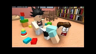 Roblox Sad Bullying Story (Five nights at freddys and bendy and the ink machine and cuphead)