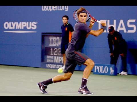 Roger Federer vs Juan Monaco - US Open 2011 Highlights HD