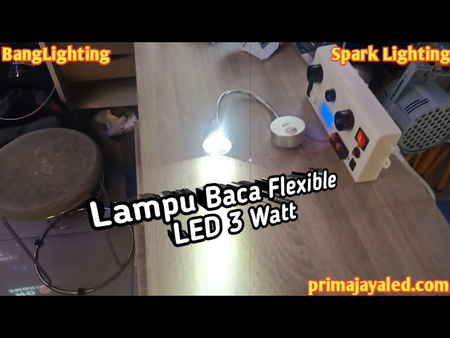 Lampu Baca Flexible LED 3 Watt