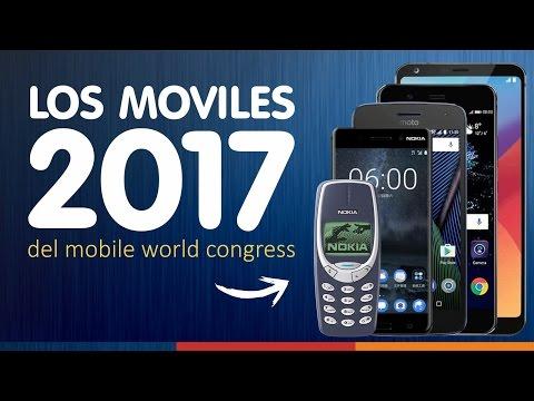 ¡¡TELÉFONOS MÓVILES 2017!! | Celulares MWC