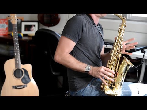 Chris Gable - Eagles Hotel California cover - ALTO SAX SOLO