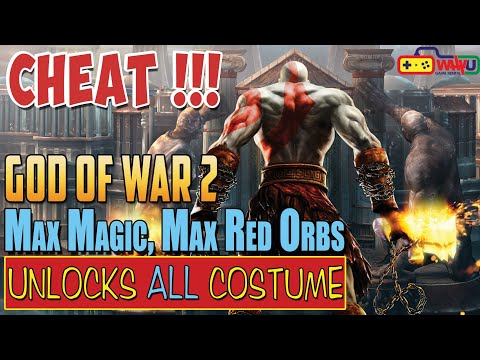 CARA CHEAT GOD OF WAR 2 PS2 LENGKAP