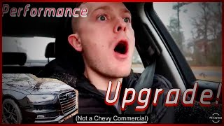 Audi A4 Performance Sway Bar Upgrade! Crazy Difference!