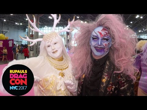 """James St. James """"Anatomy of a Look"""" at RuPaul's DragCon NYC 2017"""