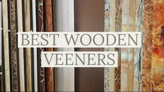 Best Natural Wood Veneers | For Stylish Wardrobes & Doors  | All India Delivery