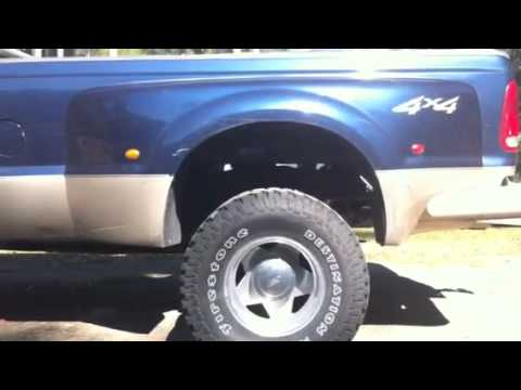 285's on dually - YouTube