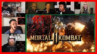 Every Fatality In Mortal Kombat 11 REACTIONS MASHUP