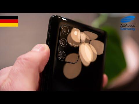 Samsung Galaxy S10 Lite Hands On deutsch 4k
