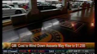 Cost To Wind Down Assets May Rise To $1.25B - GM - Bloomberg