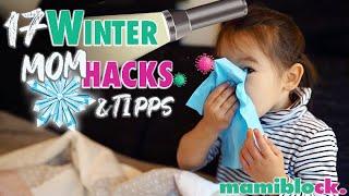 17 Winter Mom Hacks und Produkte ❄️