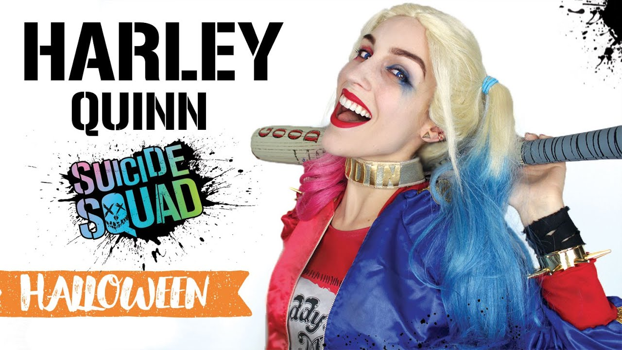 Maquillage Dhalloween Harley Quinn Youtube