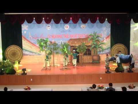 Liên hoan ca múa nhạc khối chuyên các nhà thiếu nhi toàn thành 2016 Nhà thiếu nhi Quận Bình Thạnh