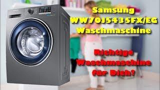 Samsung WW70J5435FX/EG Waschmaschine - Was kann die Samsung Waschmaschine