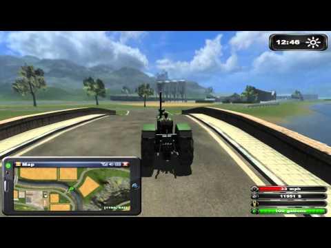 Let's Play Farming Simulator 2011 Episode 1 Career
