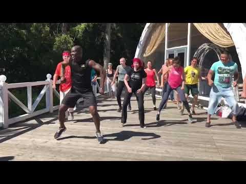 Африканские танцы: мастер-класс в Paradise Репино