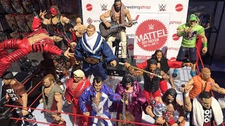 Forthcoming WWE Action Figures Shown At Wrestling Shop Live 2018