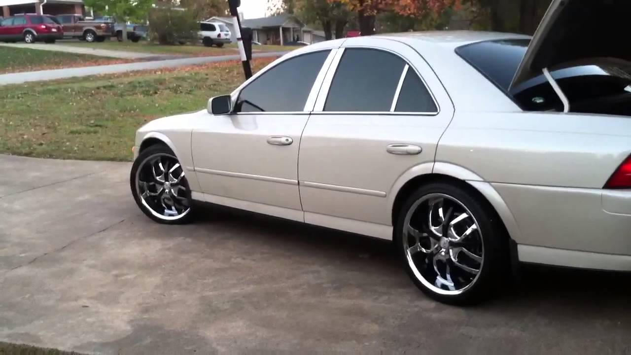 2002 Lincoln LS on 20s  YouTube