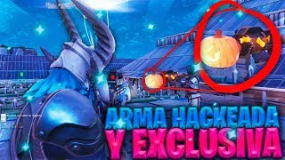 🤑HACKER GIVES ME HACKED AND EXCLUSIVE WEAPON IN FORTNITE!!