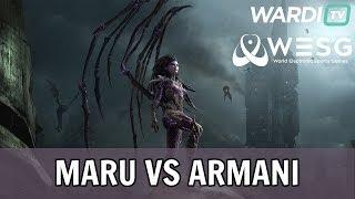 Maru vs Armani (TvZ) - WESG South Korea Qualifier