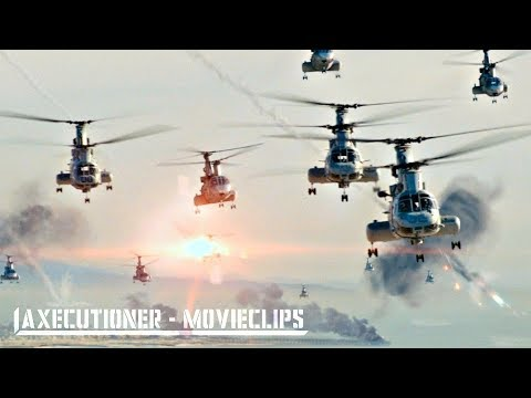 World Invasion Battle: LA |2011| All Alien Attack Scenes [Edited]