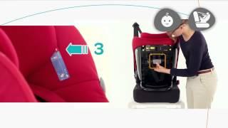 Maxi Cosi Milofix installatie autostoel