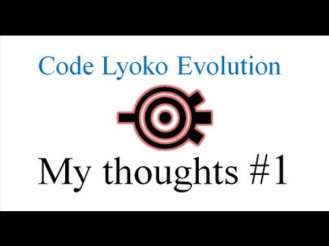 Code lyoko: Evolution My thoughts
