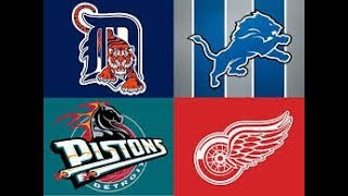 Top 5 Detroit Sports Moments (Since 2000) HD