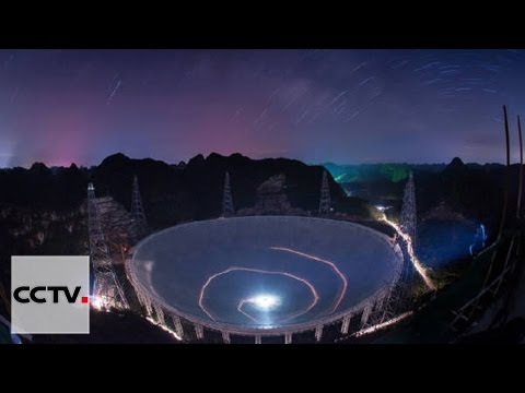 China's giant radio telescope ready to probe universe