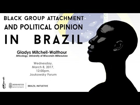 Black Group Attachment and Political Opinion in Brazil