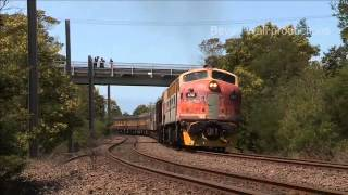 42101 heavy load trial to Moss vale - November 2014