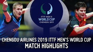 Дмитрий Овчаров vs Mattias Falck | Men's World Cup 2019 (R16)