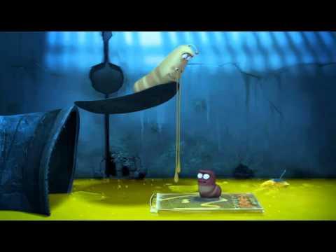 52 HD] Larva   Snot Runny nose Mocos Resfriado Animacion Multimedia Larva Dibujos Animados 3D