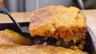 este pastel de carne y patata es tan fcil de hacer que parece mentira que sea de verdad