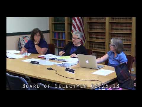 Board of Selectmen 06.25.18