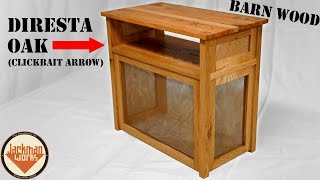 Custom Media Table (with wood from Jimmy Diresta & Matt Thayer)