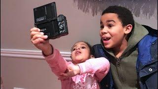 Little Sister VS Big Brother Vlog War!
