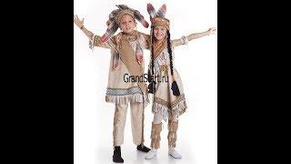 костюм  Индеец для мальчиков  Магазин GrandStart.ru